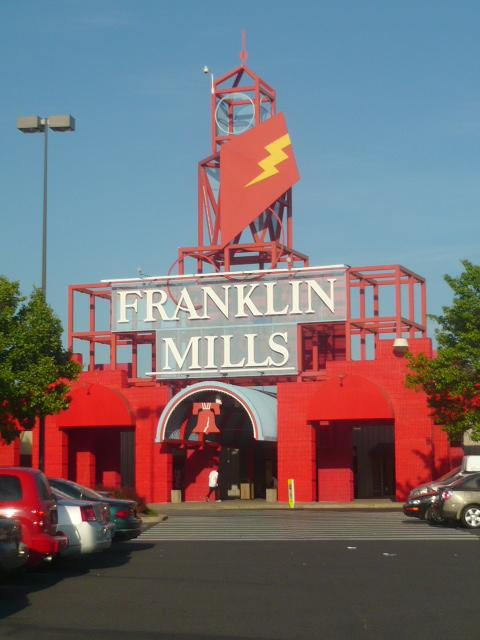 The Franklin Mills Mall is still opened, despite rumors of closing.