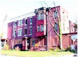 Evelyn's old neighborhood near 16th Street and Erie Avenue.