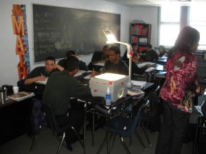 Technology is short at Fairhill, but classes make due