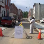This 3100 block of N. Hutchinson St. now has a fresh and safe look that it never had before.