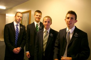 Elder Ott, Perry, Anderson and Griffiths