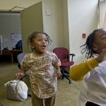 Kids at the community center