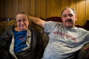 Landvest real estate rental scam victims Edna and Andrew Valerio ended up buying their house from the bank.