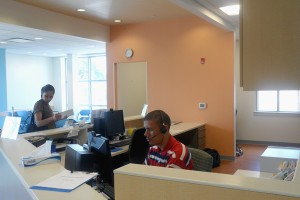 Esperanza Registration Desk