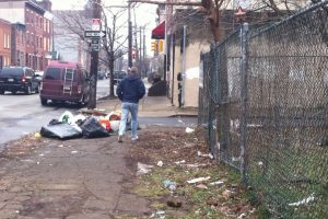 "This block, between Cumberland Street and Martha Street, will be part of the ""Adopt-A-Block"" program."