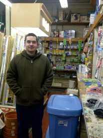 Monarch Co-owner David Presser stands in his store