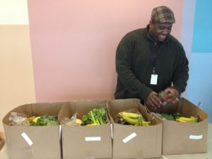 Pastor Rob Whitmire organized Farm to Families boxes with ingredients tailored toward the Latino community.