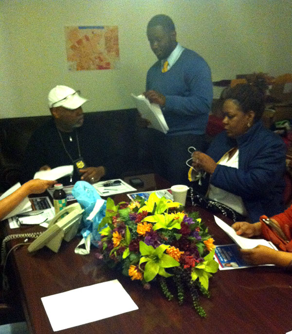 Residents and community liaison's gathered and discussed an action plan to present to elected officials.