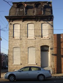 Stieffenhofer purchased this building on the 3900 block of Baring St. with intentions to renovate it for residential use.