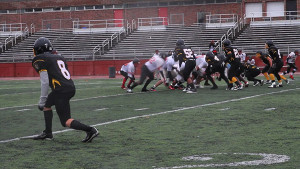 The Kensington Tigers battled both Northeast High School and the snow in their final game of the season.