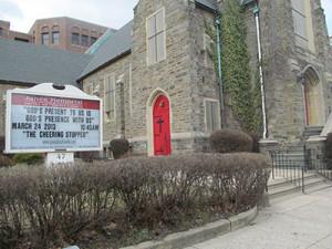 Janes Memorial United Methodist Church located on Haines Street in Germantown.