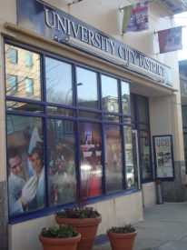 University City District's base of operations is located on the 3900 block of Chestnut St.