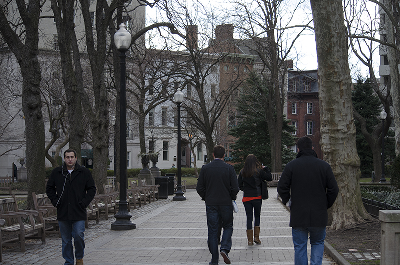 Philadelphians from all across the city enjoyed a brisk day in Rittenhouse Square but had strong opinions on how the city handled the reassessment of property values. Photo Credit: Max Pulcini