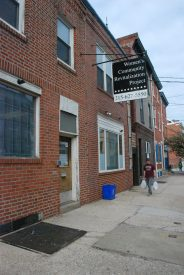 The Women's Community Revitalization Project headquarters is located at 407 Fairmount Ave.