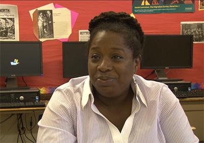 Bonnee Breese, teacher at Overbrook High School, spoke about her experience teaching at Overbrook High School.