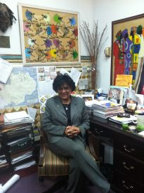 Councilwoman Jannie Blackwell who represents the Philadelphia's Third District talks about the school closings.