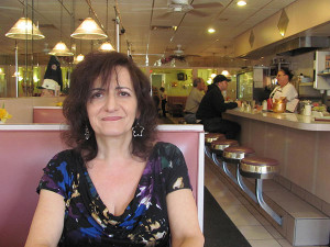 Cleo Psillos sat as she explained her daily specials at Athenian Restaurant.