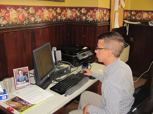 Alex Balloon sent out final emails to volunteers for the cleanup.
