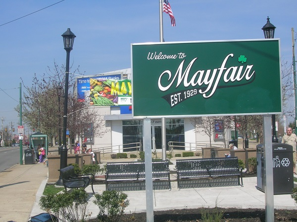 The Frankford Avenue and Cottman Avenue intersection is a staple of Mayfair and will be a central figure in the revitalization plan.