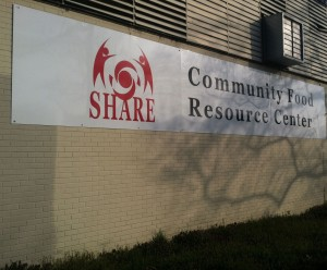 The SHARE Resource Center located at 2901 W. Hunting Park Avenue.