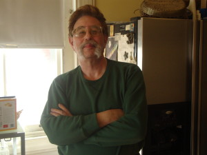 David Axler stood in the kitchen of his home on the 4400 block of Chestnut St. on Sunday, April 7. Axler purchased the property in January 1995.