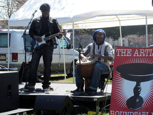 Local bands provided live music for event attendees.