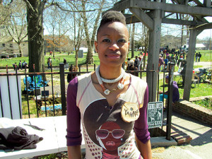 YahNé Ndgo Baker has been a member of Friends of Vernon Park for about a year.
