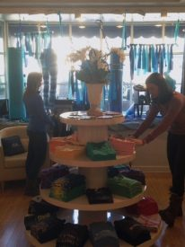 Owner of Indigo Schuy, Schuy Nunn, pledged to light up her store in blue for Autism Awareness Month.