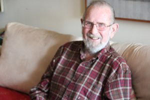 Wayne Higley explained his favorite activities offered at Wesley Enhanced Living Center.