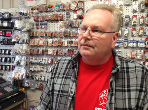 Tacony business owner Mark Whited, of Bull's Eye Darts, hopes that the revitalization efforts if Tacony can improve business.