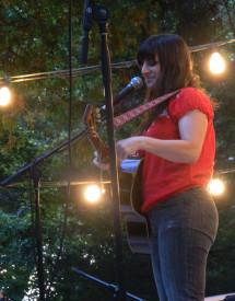 Singer-songwriter Suzie Brown
