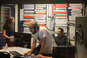 People at WXPN radio listened to bands looking to be featured on their station.
