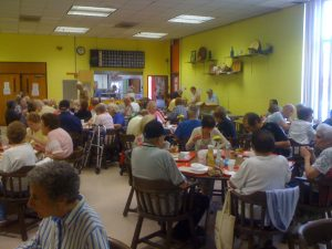 Lunch time at the South Philly Older Adult Center