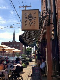 Cafe La Maude is on the 800-block of Fourth Street in Northern Liberties.