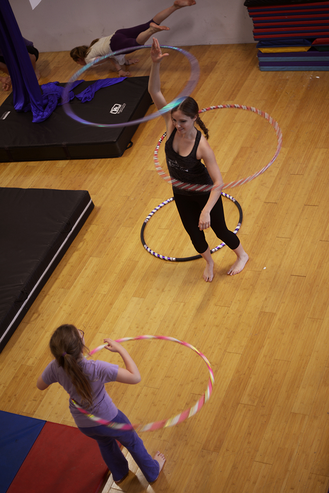 The circus school has found that while Facebook is an excellent way to communicate with the circus community, traditional forms of networking are more effective for reaching new students.