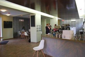 Steap and Grind will offer its speciality, loose tea, along with coffee, breakfast foods and sandwiches around lunch.