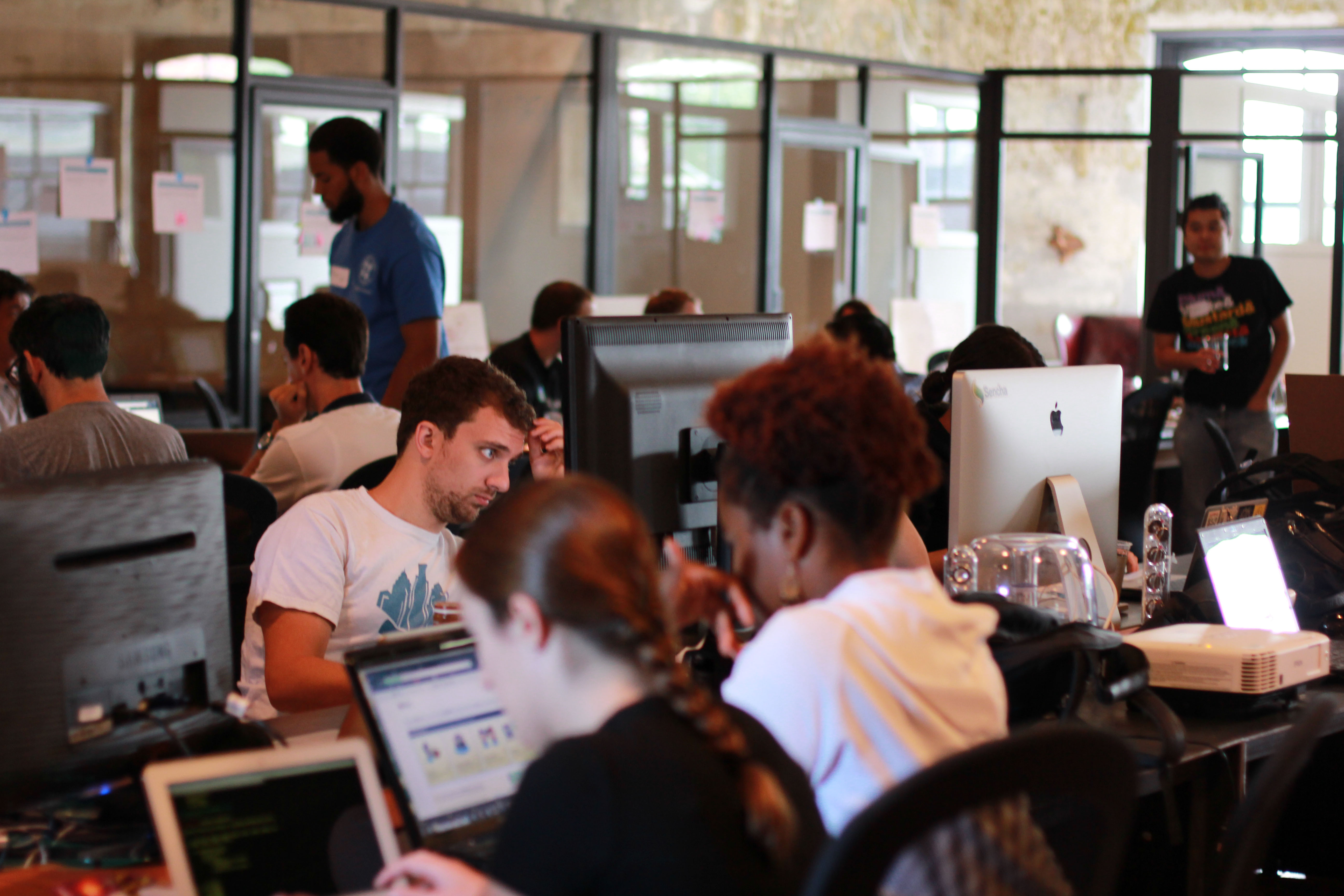 More than 40 people came together and worked on Apps to help improve SEPTA's service.