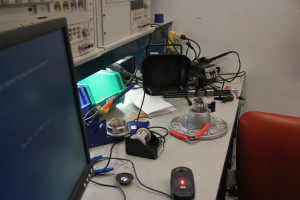 Students involved in the hackathon were provided equipment from the Engineering Department at the Detkin Laboratory.