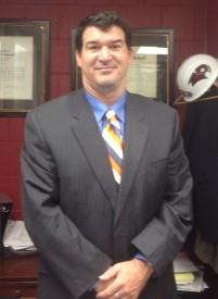 St Joseph's Prep football coach Gabe Infante is currently in his fourth season as the Hawks' head coach.