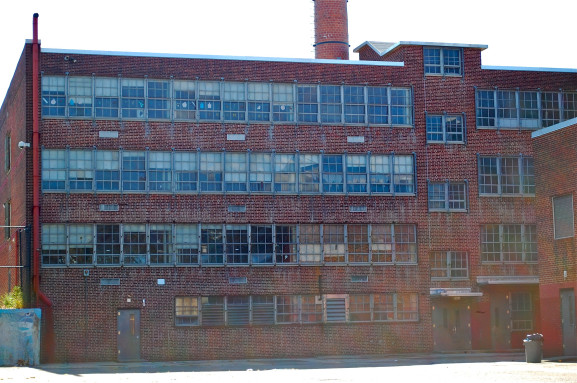 Closed in June, Alexander Wilson School sits vacant at 46th Street and Woodland Avenue.