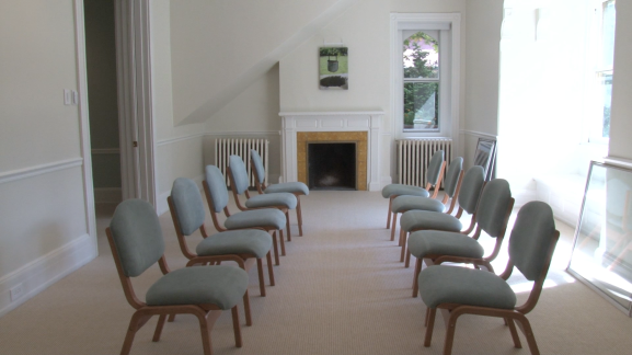 A meeting room for the Wellspring programs