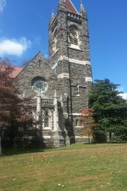 A view of the outside of Saint Martins Episcopal Chruch
