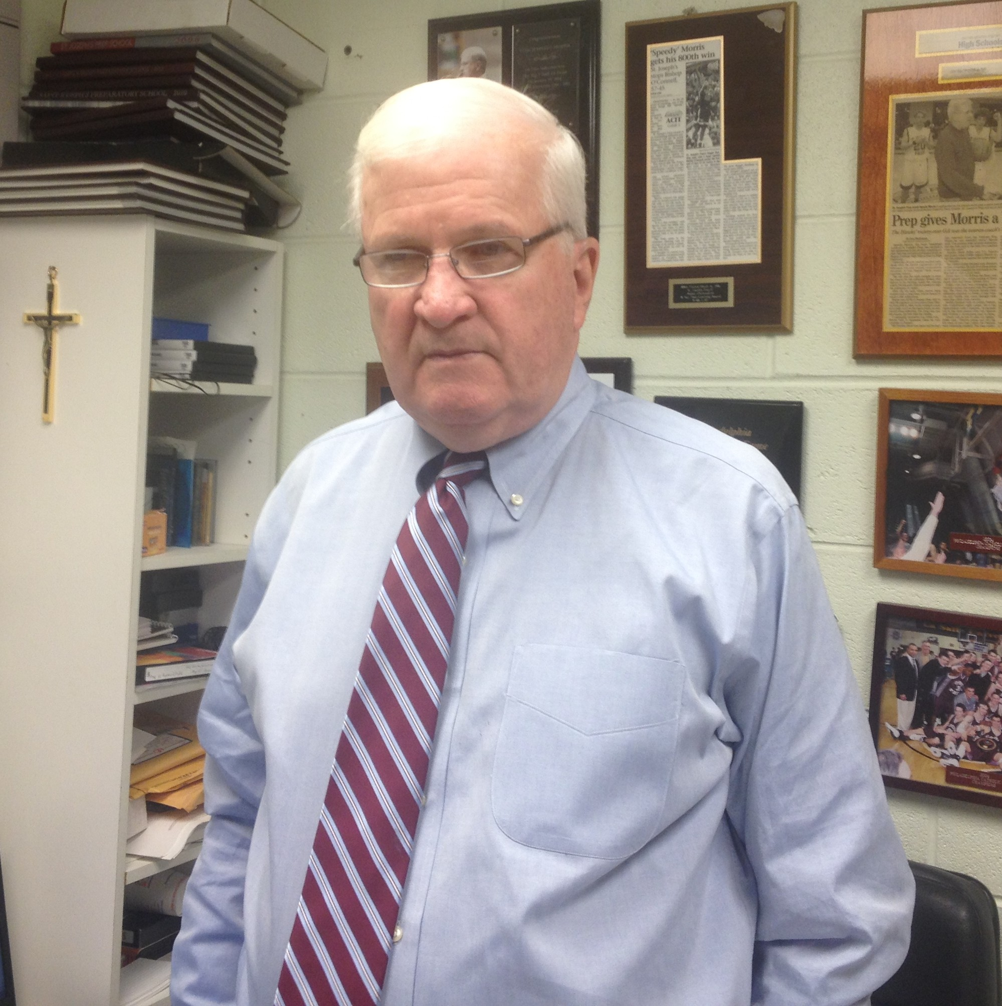 Saint Joseph's Prep boy's basketball coach Speedy Morris will be honored by the ECAC in early December.
