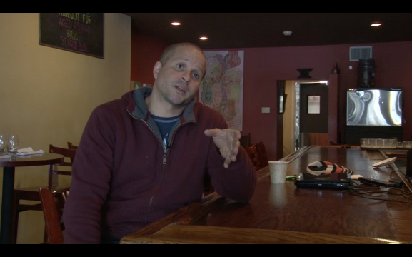 Chris Simpson of Wine Thief Bistro explains why being sustainable matters to him.