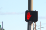 Visual and audible countdown signals still need to be installed at some intersections.