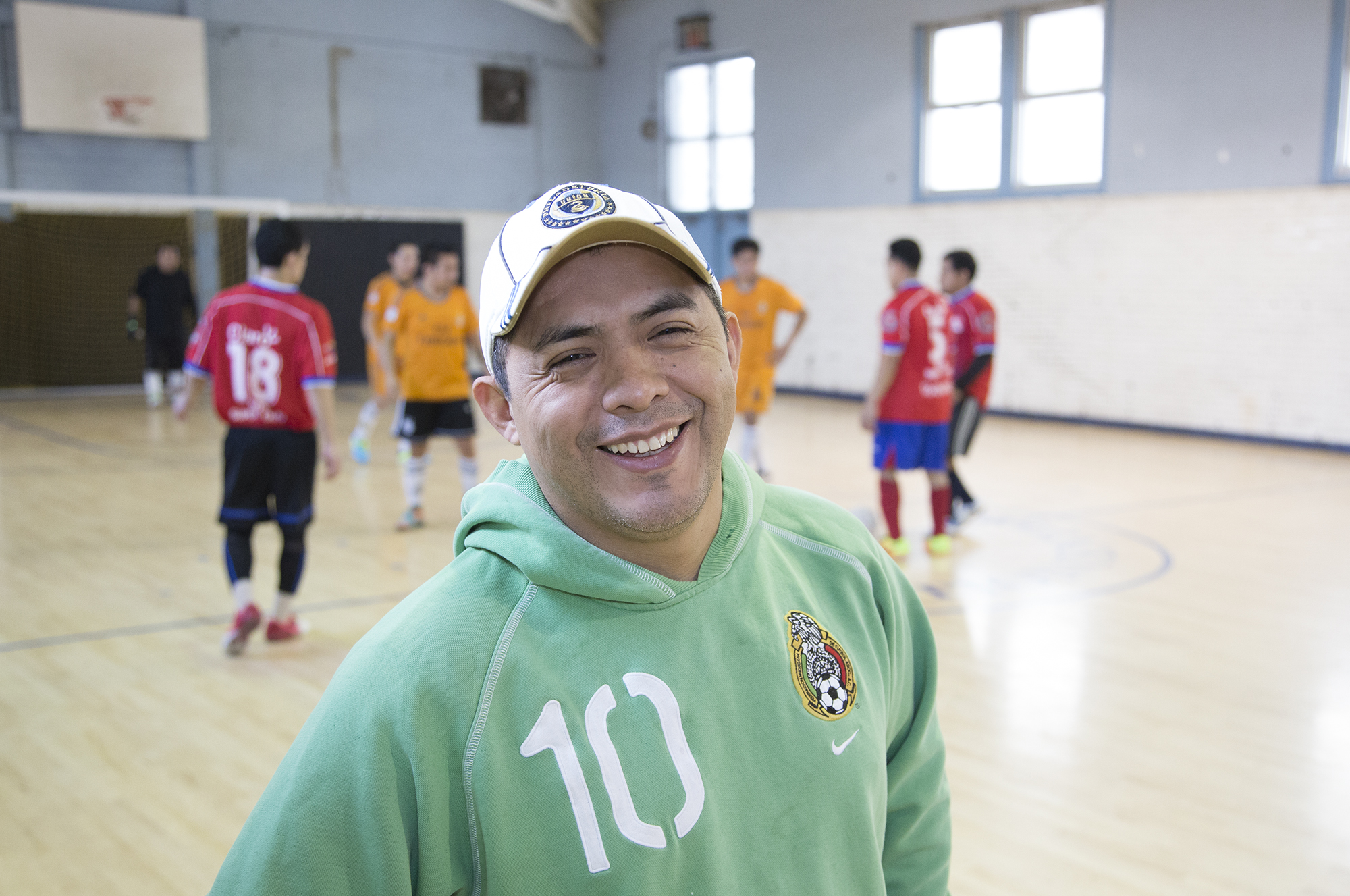 Emilio Alcaide, Director of the PhillyMex soccer league.