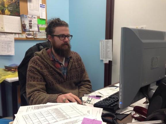 John Eskate is the Hunger Relief Volunteer Coordinator at Klein JCC