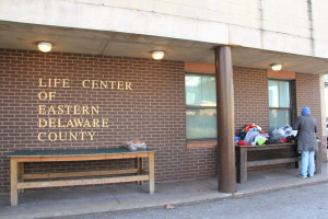 The outside of the Life Center of Eastern Delaware County