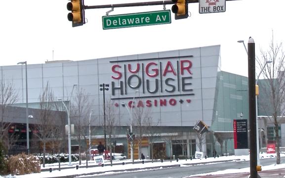 SugarHouse Casino located at 1001 N. Delaware Avenue