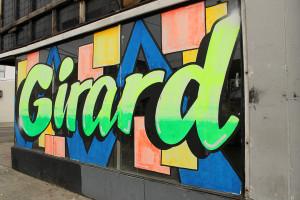 Street art on West Girard Ave. in Philadelphia.